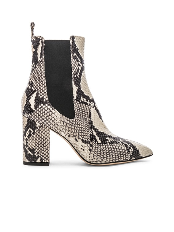 Ankle Boot in Natural Snake