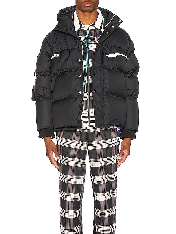 x Ader Down Puffer in Black