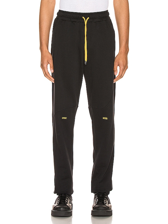 College Slouch Pant in Black