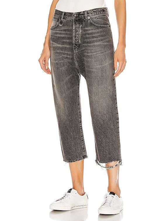 Tailored Drop Jean in Leyton Black