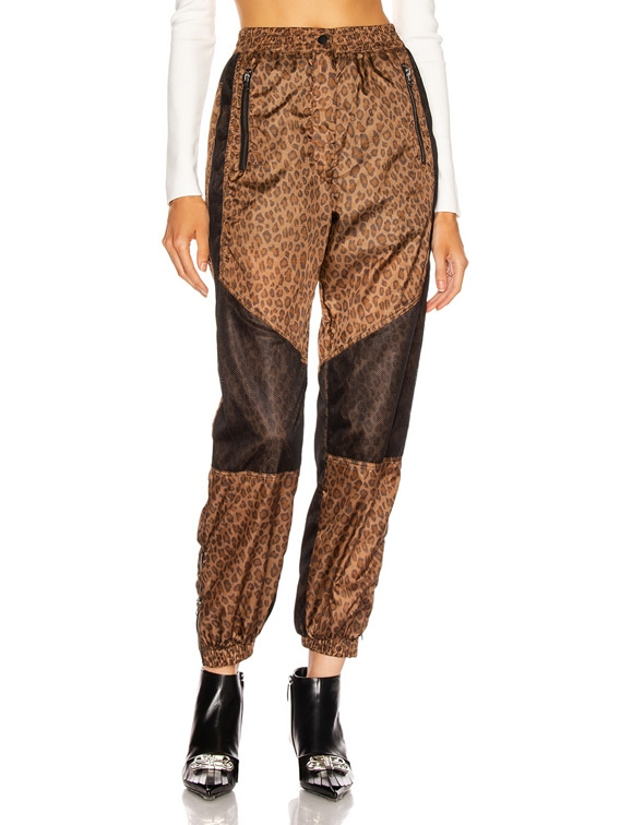 Track Pant in Leopard