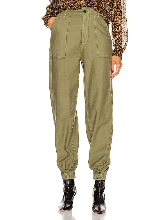 Utility Jogger in Olive