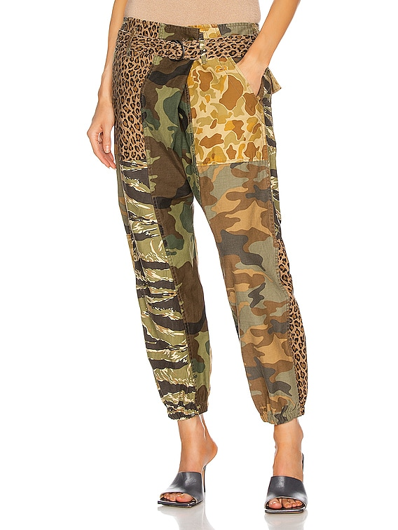 Crossover Utility Drop Pant in Multi Camo