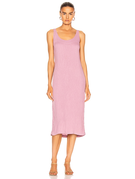 Easy Tank Dress in Mauve