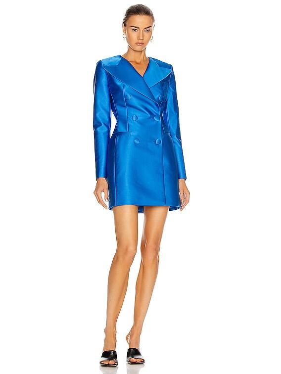 Jacket Dress in Blue