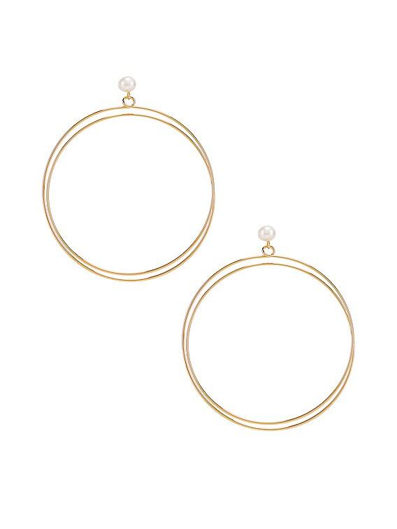 Sphere Earrings in Gold
