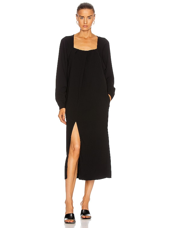 Renee Long Sleeve Dress in Black