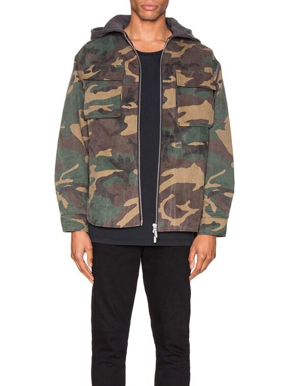 Camo Jacket in Camo