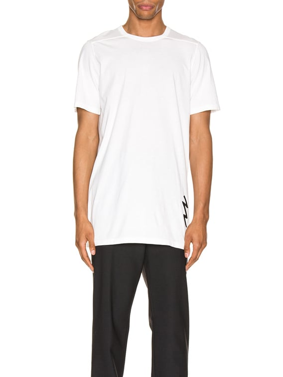Level Tee in White
