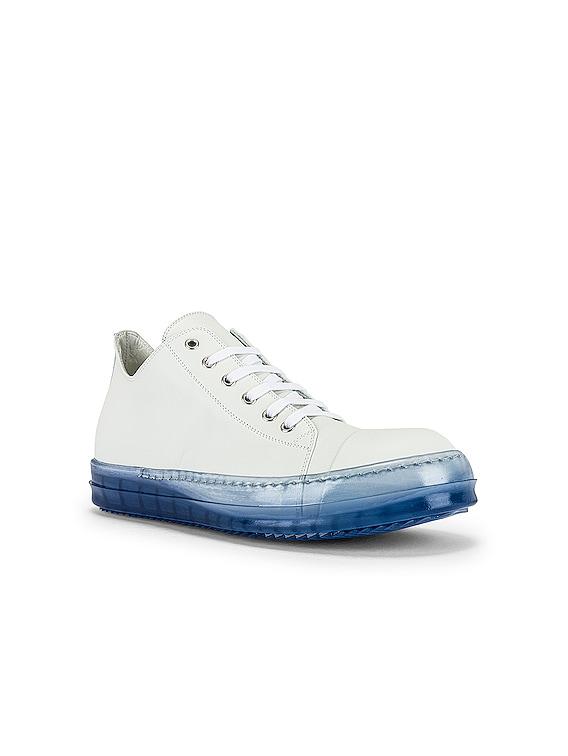 Low Top Sneaker in Chalk White & Nublu