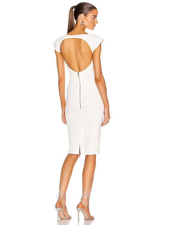 Easy Sarah Dress in Chalk White