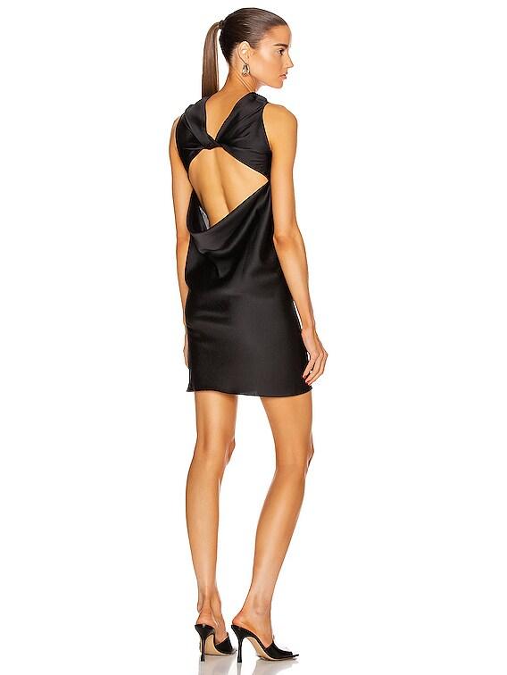 Skorpio Mini Dress in Black