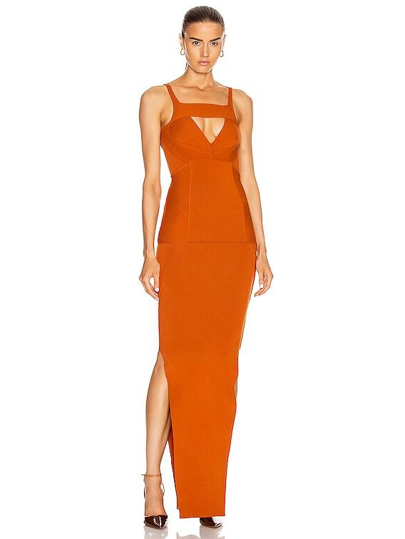 Easy Corona Dress in Orange