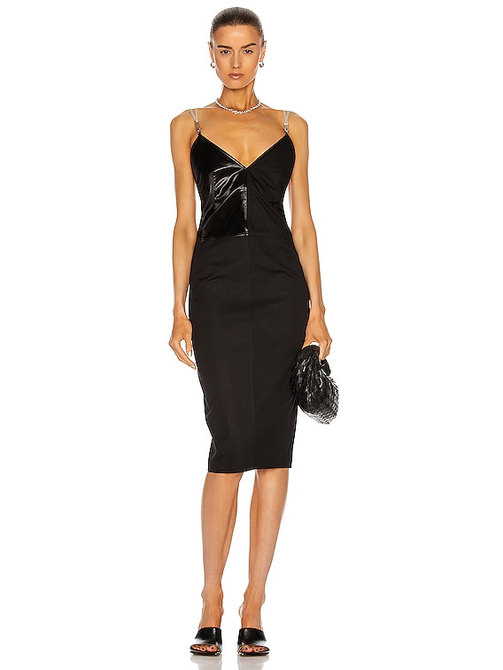 Maillot Dress in Black
