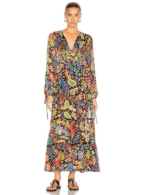 Lori Dress in Woodstock Lurex