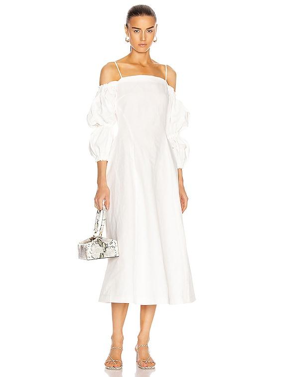 Lorna Dress in Off-White