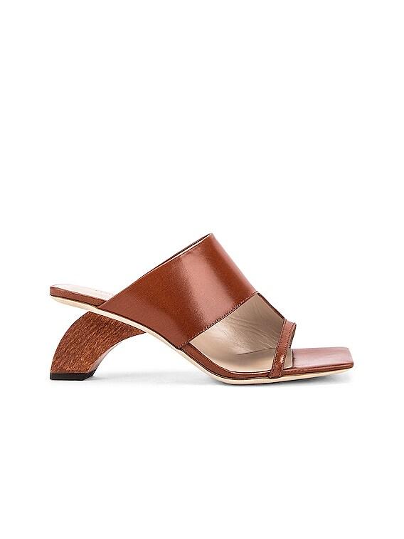 Leah 60 Sandal in Brown