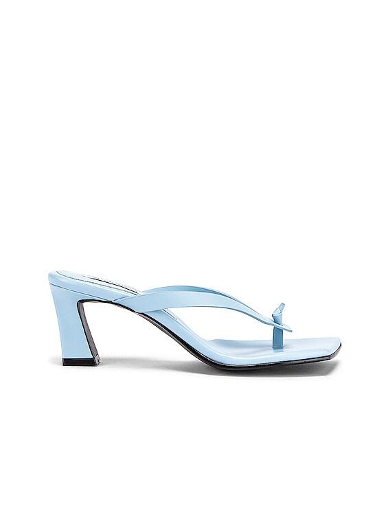 Flip-Flop Heel in Sky Blue