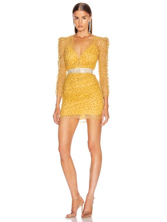 Yala Dress in Cardinal Yellow