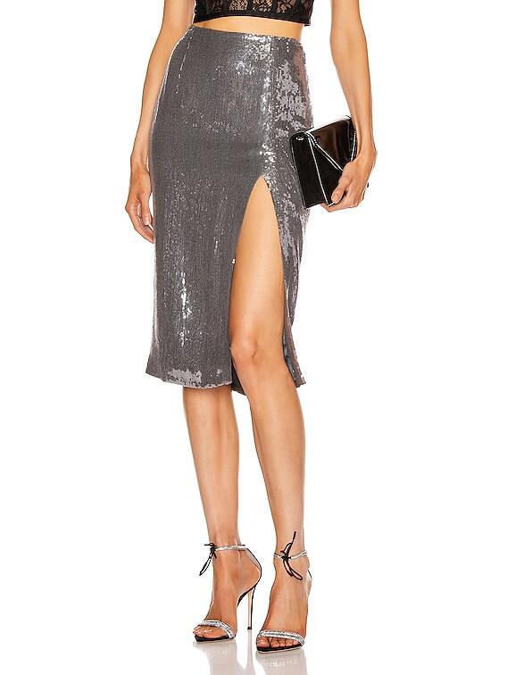 Alara Skirt in Stone Silver