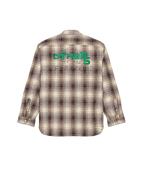 Big Fit Shirt The Others in Brown Tabacco