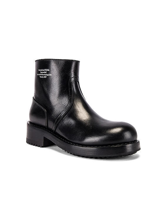 Ankle Boot in Black