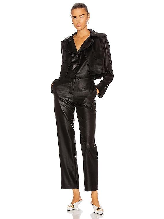 Delilah Jumpsuit in Black