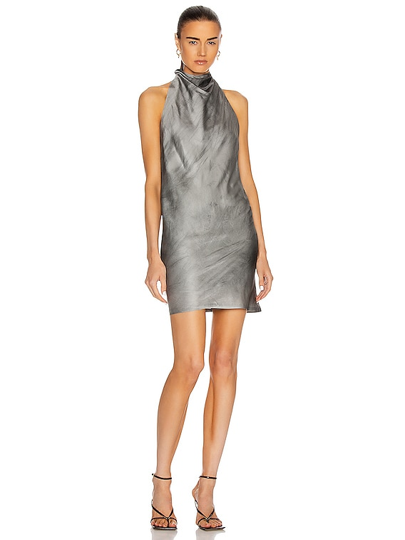 Abella Dress in Cement Dyed