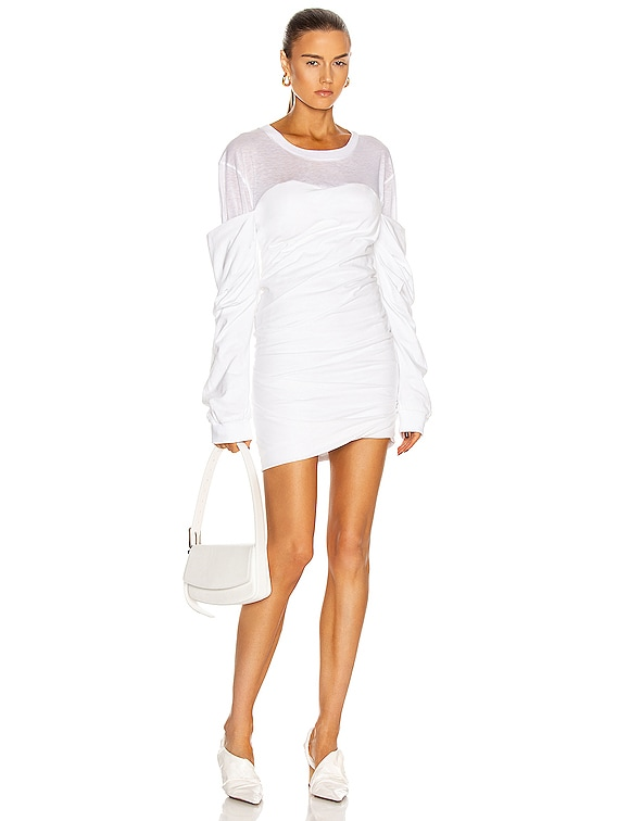 Indya Mini Dress in White