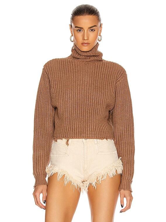 Beau Sweater in Desert Sand