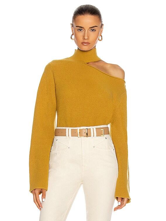 Langley Sweater in Mustard