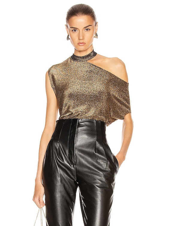 Axel Top in Gold