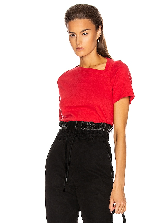 Zoey Tee in Flame Red