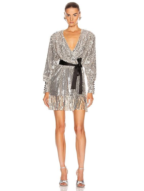 Samantha Dress in Silver
