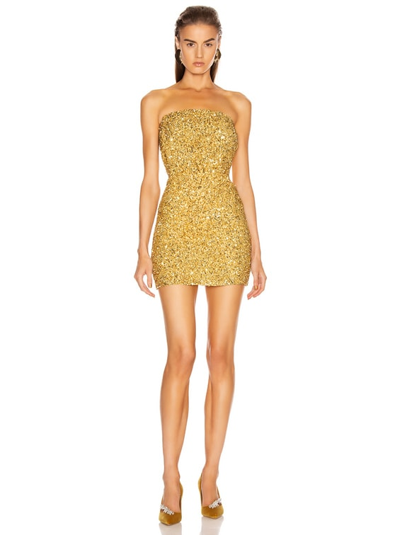 Heather Dress in Gold