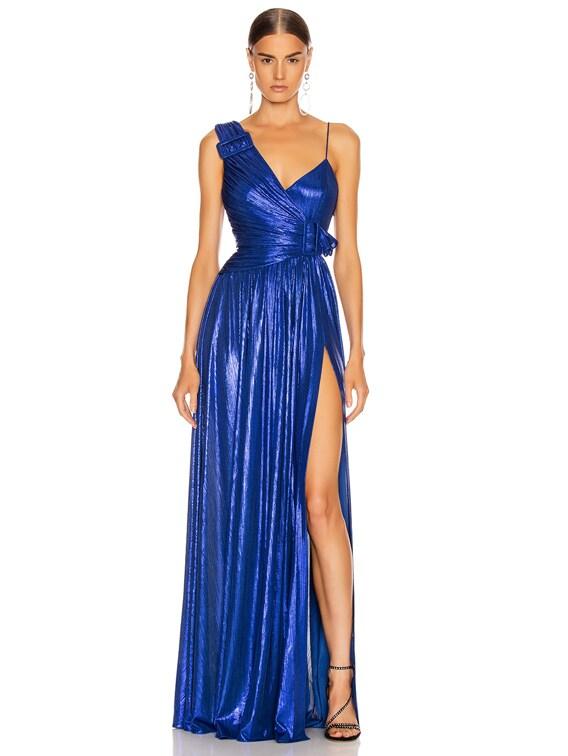 Natalie Dress in Royal Blue