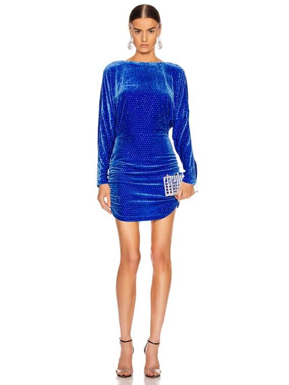 Etta Dress in Blue
