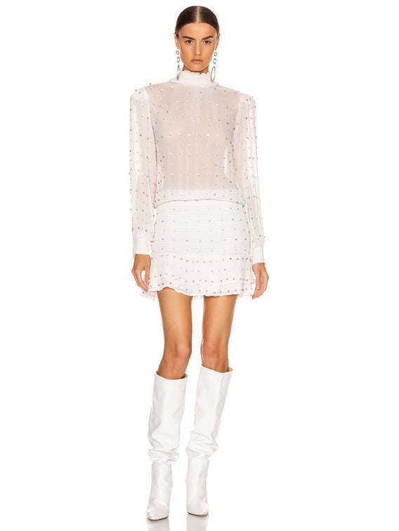 Hedy Dress in White