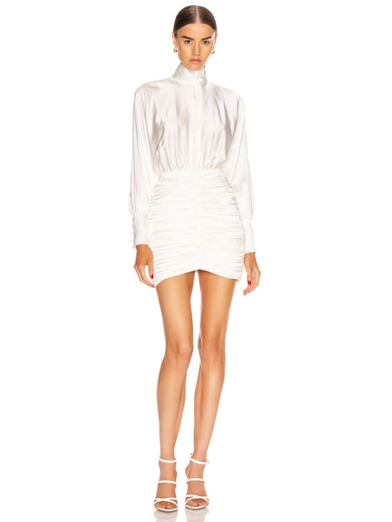 Barbara Dress in White