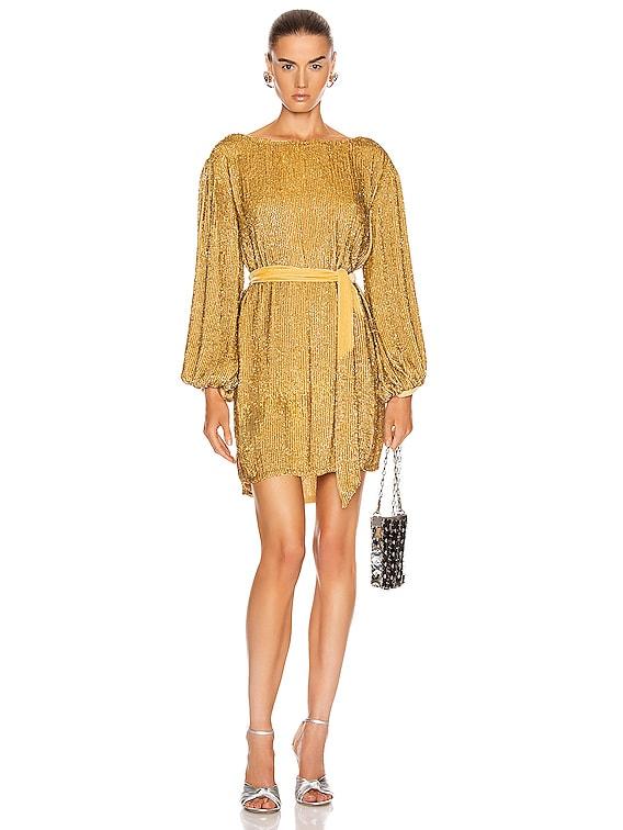 Grace Dress in Gold