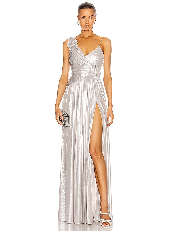 for FWRD Natalie Dress in Silver