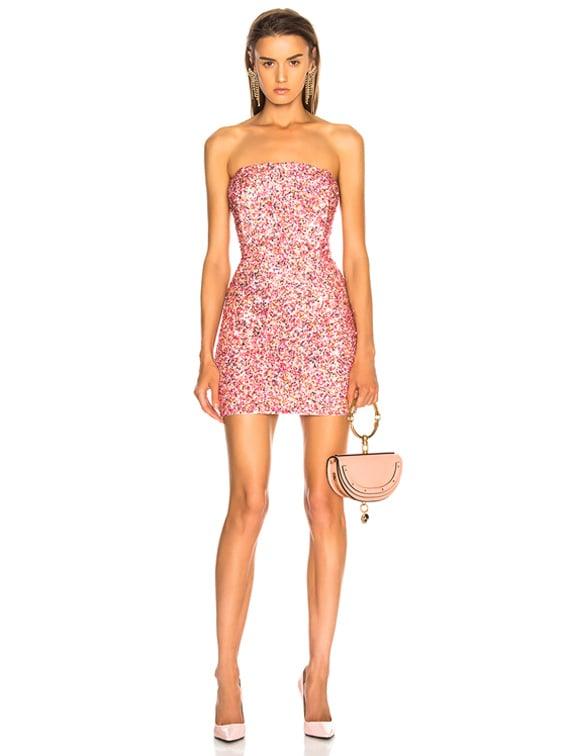 for FWRD Heather Dress in Peach Multi