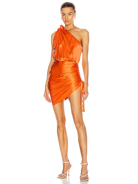 Nadia Dress in Orange