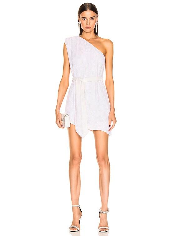 Ella Dress in Pearl White