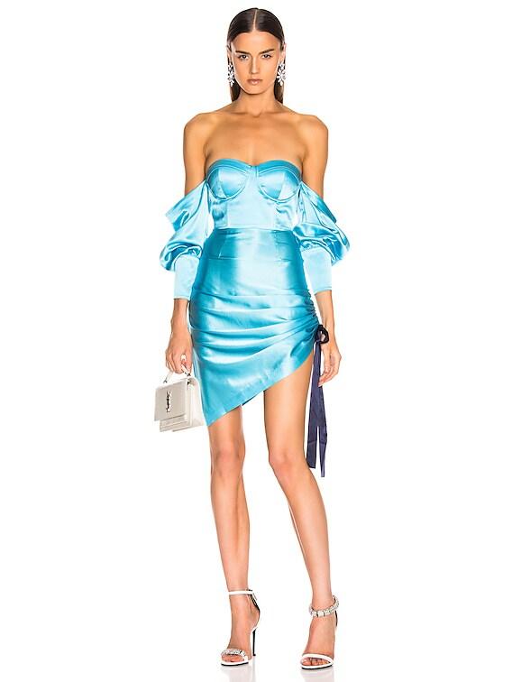 Cori Dress in Light Blue