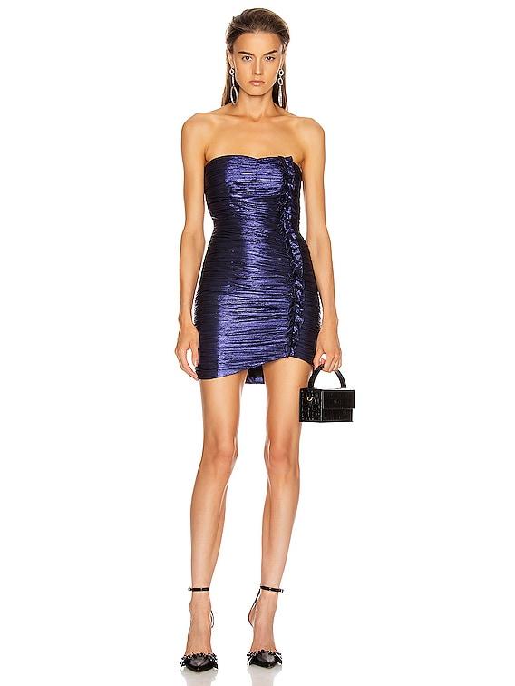 Adrienne Dress in Midnight Purple