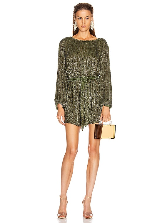 Grace Dress in Army Green