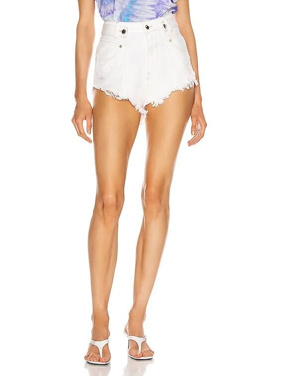 Tessa Short in Vintage White