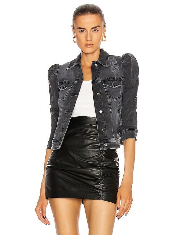Ada Jacket in Faded Black