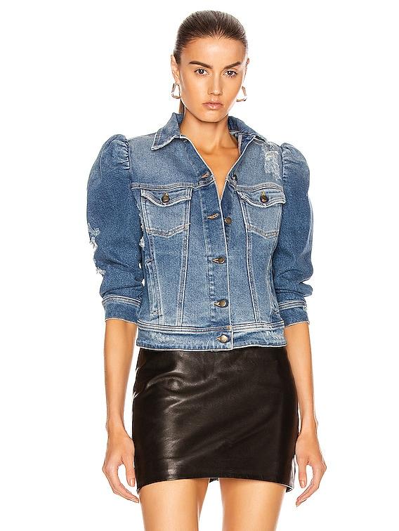Ada Jacket in Worn Vintage Blue